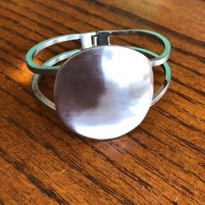 Jewelry - Brushed Silver Bracelet